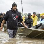 Rescue effort in Harvey, Texas