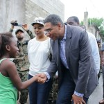 PM Andrew Holness in Mount Salem