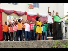 EDUCATORS AND ENTERTAINERS USED CONCERT TO TEACH STUDENTS THE CULTURE OF JAMAICA!