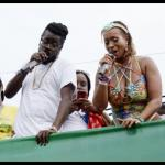Beenie Man and Alison Hinds