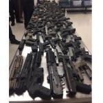 Guns seized in Miami