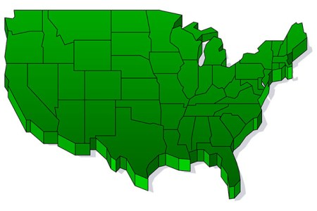 us map clip art clipart best