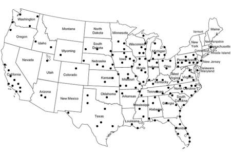 black and white map of the united states clipart best