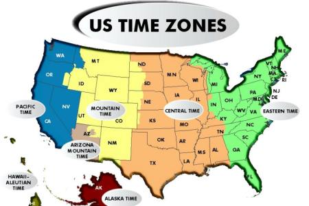 time zone map usa printable clipart best