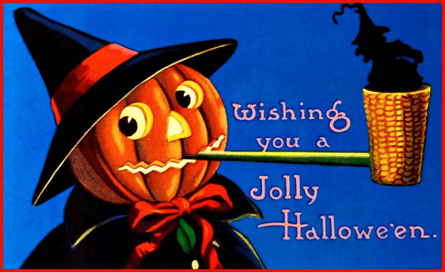 Jack-o-Lantern Pipe Clipart