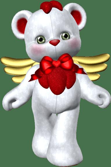 Valentine Hug Bear Clipart