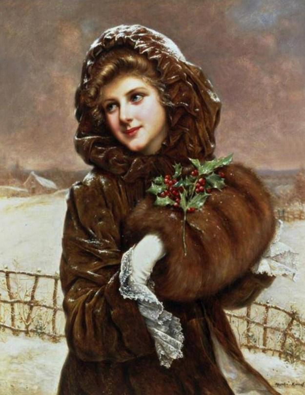 Lucky Woman by Emile Vernon