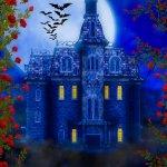 Free Haunted House Background