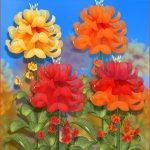 Free Autumn Fairy Flowers