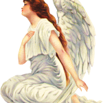 Free Red Headed Angel graphic
