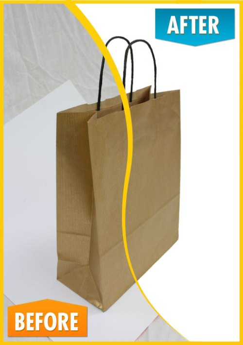Paper Carrier Bag (Before and After)