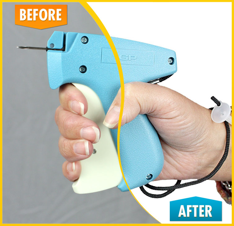 Tagging Gun (Before and After)