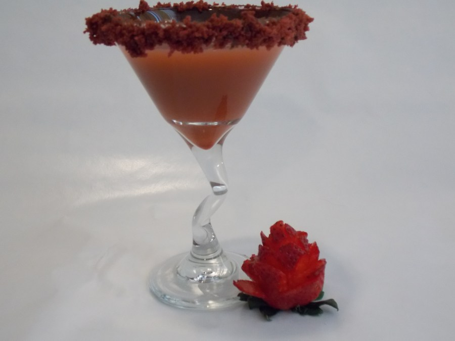 Stop back next week to learn how to make rose garnishes!