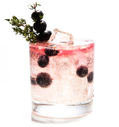Top Spring Cocktail #3: Blueberry Thyme!