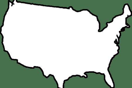 pics photos united states black white blank outline map