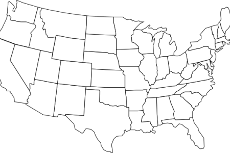 black and white u.s. map clip art at clker.com vector