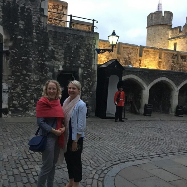 Invitees of Digital Recruiters clockworkTalent, Mind Tools at the Tower of London