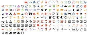 Original emoji set 1999