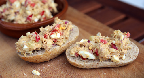 Perfect on baguettes for lunch or as a Tapas Dish