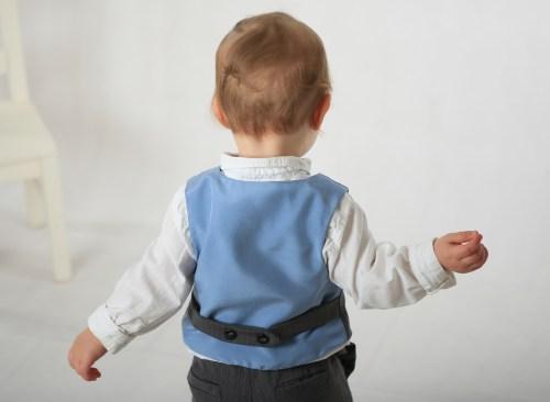 Back of vest