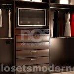 vestidor moderno de madera df mexico