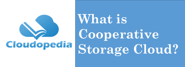 Definition Cooperative Storage Cloud