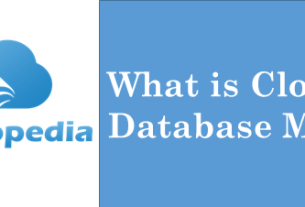 Definition Cloud Database Monitoring