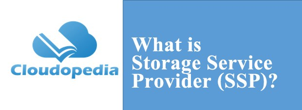 Definition of Storage Service Provider (SSP)