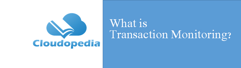 Definition of Transaction Monitoring