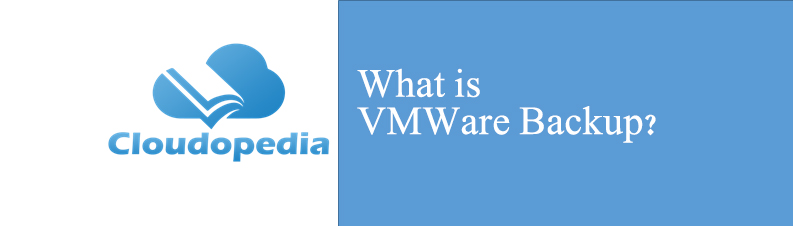 Definition of VMWare Backup