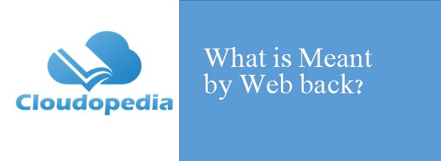 Definition of Web Back