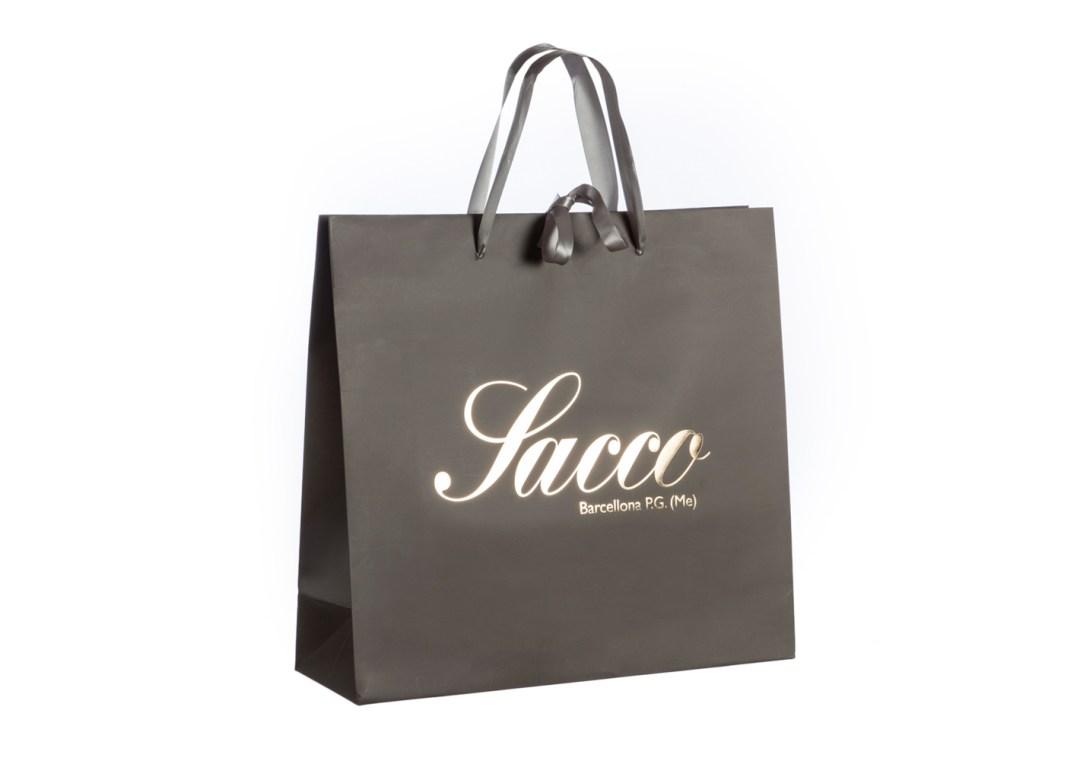 Shopper in carta manuale