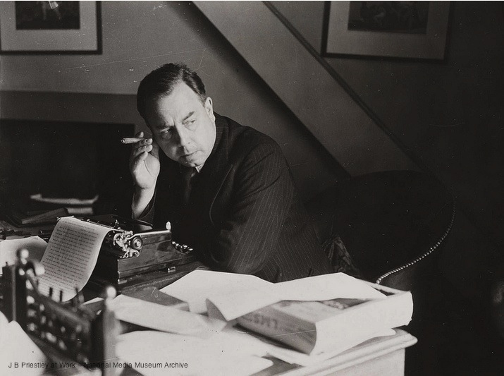 4. J B Priestley at Work -- National Media Museum Archive