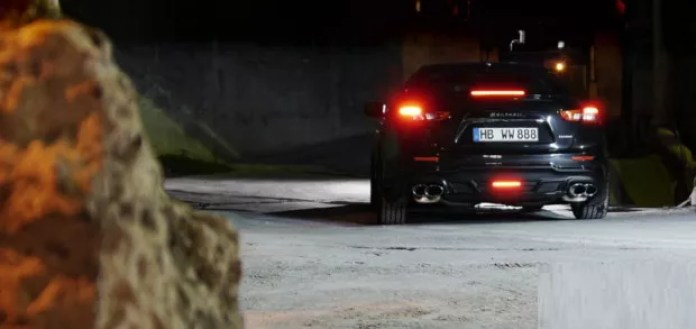 Maserati Ghibli Black Bison Giappone 2