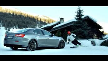 Maserati Ghibli S Q4 Giorgio Rocca sci spot pubblicità