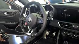 Alfa Romeo Giulia interni 5