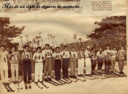 concurso esqui 1934