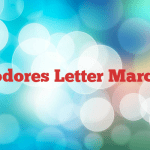 Commodores Letter March 2016