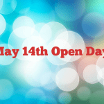 May 14th Open Day