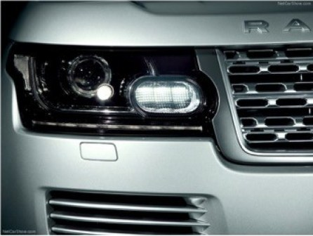 Range Rover Clear Headlight Cover - Vacuum Cast