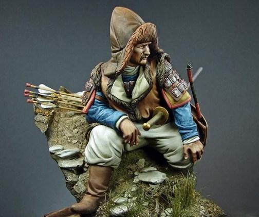 'Mongolian Warrior' (200mm) by Rich Bailey
