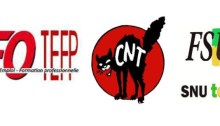 intersyndicale TEFAL ChambéryCNT CGT UNSA SUD FSU CFDT FO