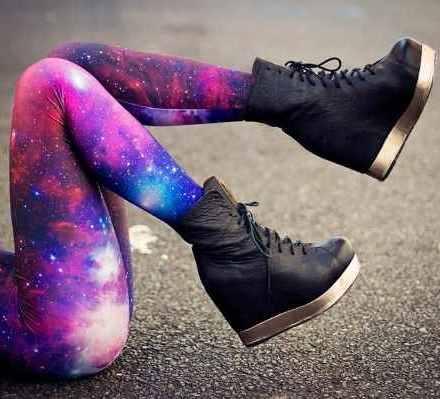 Resultado de imagen para ropa de galaxia