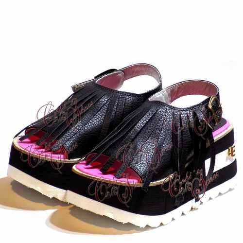 Sandalias Mujer Plataforma Flecos Verano 2017 De Cokis Shoes