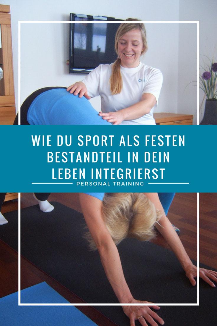 Wie du Sport als festen Bestandteil in deinen Alltag integrierst