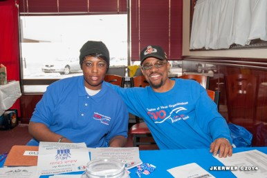 Stacy Henderson and Darryl Howard (CVO Treasurer)