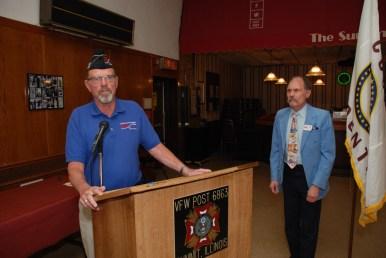 Bruce Parry (CVO Chair 2007-2015) Presents Jim Profit Award to Larry Nazimek