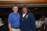 Bruce Parry (CVO Chair 2007-2015) and Sharon Stokes-Parry (Montford Point Marines Chicago Chapter 2 President)