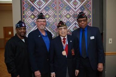 Darryl Howard (CVO Director), Dr. Bruce Parry (Past CVO Chair, CVO Treasurer), Stanley Porter, Willie Mack (CVO Chair)