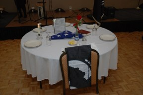 Table for the Fallen Soldiers